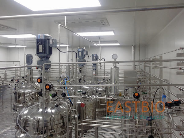 Floor Stand Stainless Steel Bioreactor Biopharmaceutical Fermenter System